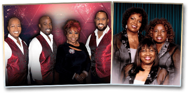 The Platters and The Dixie Cups