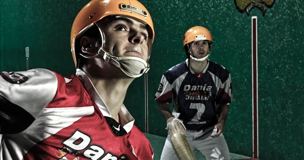 Jai-Alai Player